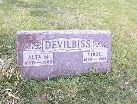 DEVILBISS, ALTA M - Guthrie County, Iowa | ALTA M DEVILBISS
