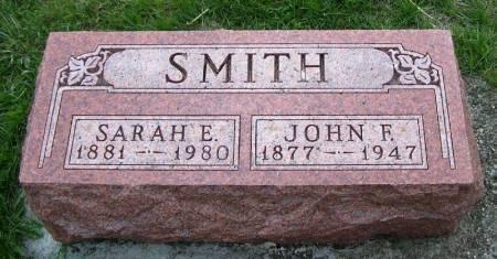 SMITH, JOHN F. - Guthrie County, Iowa   JOHN F. SMITH