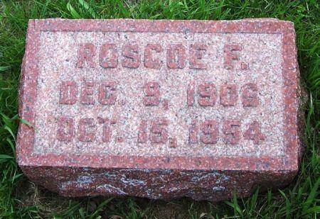 DICKSON, ROSCOE F. - Guthrie County, Iowa | ROSCOE F. DICKSON