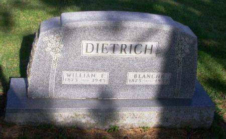 DIETRICH, WILLIAM E. - Guthrie County, Iowa | WILLIAM E. DIETRICH