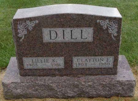 DILL, CLAYTON E. - Guthrie County, Iowa | CLAYTON E. DILL