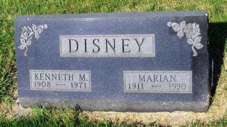DISNEY, KENNETH M. - Guthrie County, Iowa | KENNETH M. DISNEY