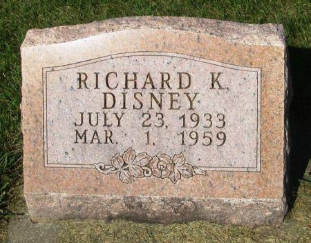 DISNEY, RICHARD K. - Guthrie County, Iowa | RICHARD K. DISNEY