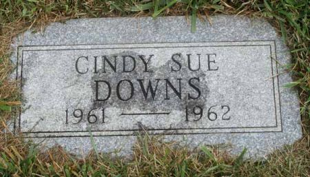 DOWNS, CINDY SUE - Guthrie County, Iowa | CINDY SUE DOWNS