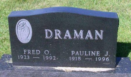 DRAMAN, PAULINE J. - Guthrie County, Iowa   PAULINE J. DRAMAN