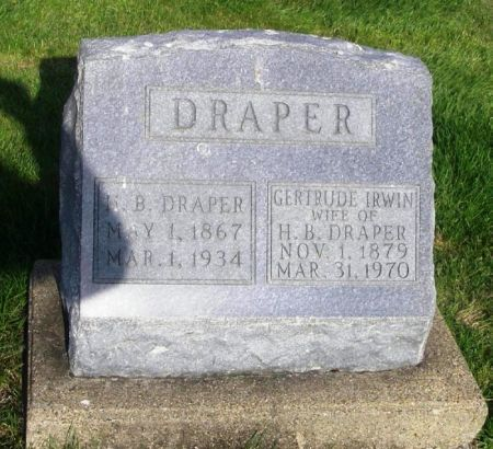 DRAPER, GERTRUDE - Guthrie County, Iowa   GERTRUDE DRAPER