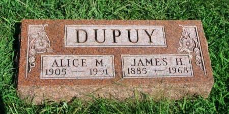 DUPUY, JAMES H. - Guthrie County, Iowa   JAMES H. DUPUY