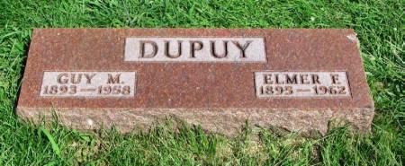 DUPUY, ELMER E. - Guthrie County, Iowa   ELMER E. DUPUY