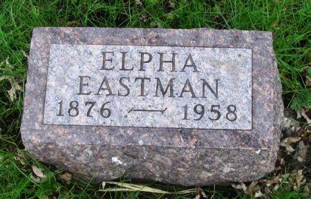 EASTMAN, ELPHA - Guthrie County, Iowa   ELPHA EASTMAN