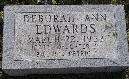 EDWARDS, DEBORAH ANN - Guthrie County, Iowa | DEBORAH ANN EDWARDS