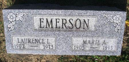 EMERSON, MARIE A, - Guthrie County, Iowa | MARIE A, EMERSON