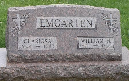 EMGARTEN, WILLIAM H - Guthrie County, Iowa | WILLIAM H EMGARTEN