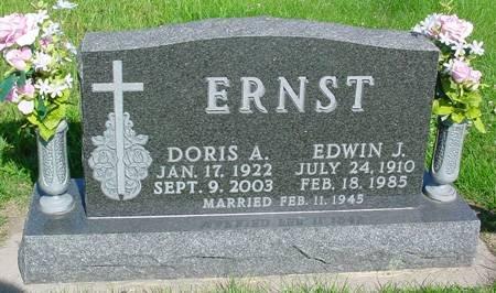 ERNST, EDWIN J - Guthrie County, Iowa | EDWIN J ERNST