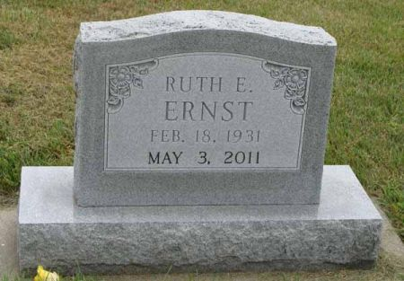 ERNST, RUTH E. - Guthrie County, Iowa | RUTH E. ERNST