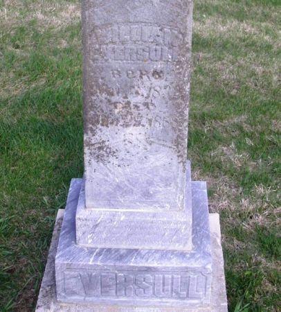 EVERSULL, WILLIAM - Guthrie County, Iowa | WILLIAM EVERSULL