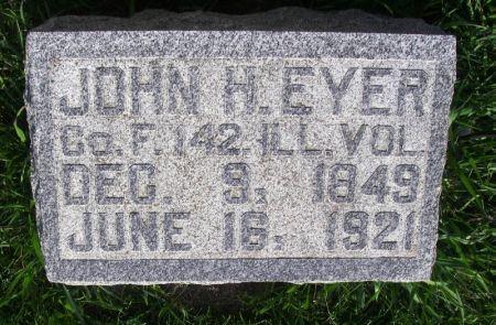 EYER, JOHN H. - Guthrie County, Iowa | JOHN H. EYER