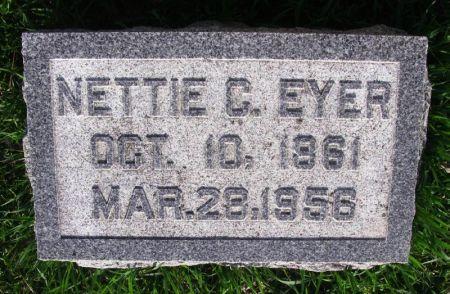 EYER, NETTIE C. - Guthrie County, Iowa | NETTIE C. EYER