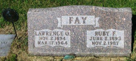 FAY, LAWRENCE O. - Guthrie County, Iowa | LAWRENCE O. FAY