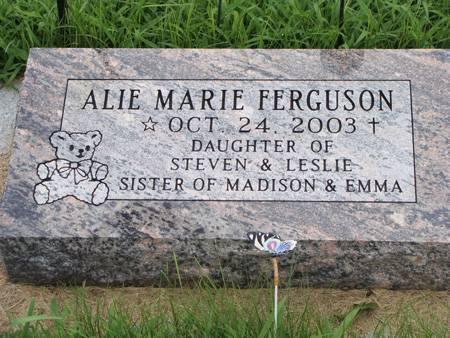 FERGUSON, ALIE MARIE - Guthrie County, Iowa   ALIE MARIE FERGUSON