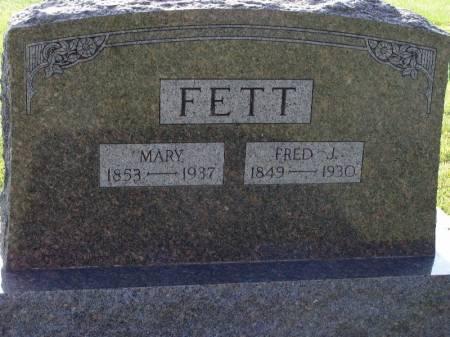 FETT, MARY - Guthrie County, Iowa | MARY FETT