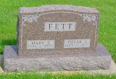 SCHLOTTERBECK FETT, MARY S - Guthrie County, Iowa | MARY S SCHLOTTERBECK FETT