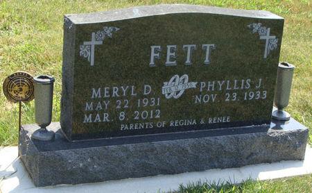 FETT, MERYL D. - Guthrie County, Iowa | MERYL D. FETT