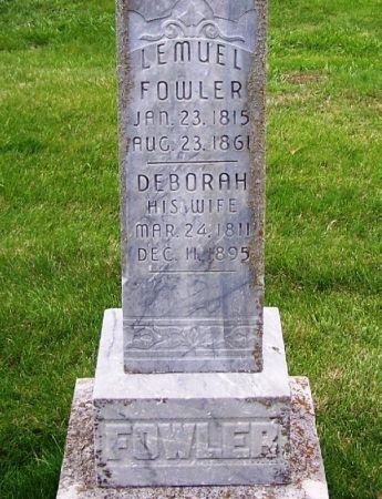 FOWLER, LEMUEL - Guthrie County, Iowa | LEMUEL FOWLER