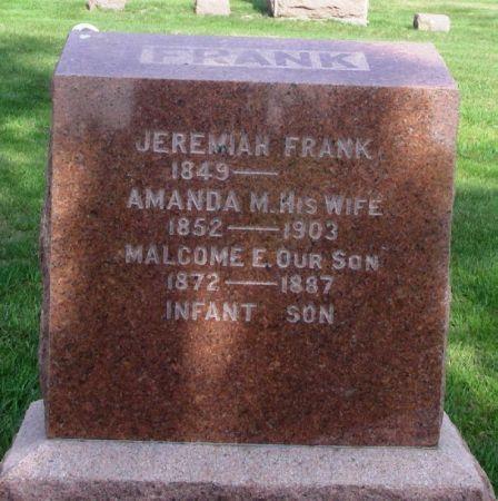 FRANK, AMANDA M. - Guthrie County, Iowa | AMANDA M. FRANK