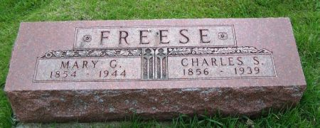FREESE, MARY G. - Guthrie County, Iowa   MARY G. FREESE