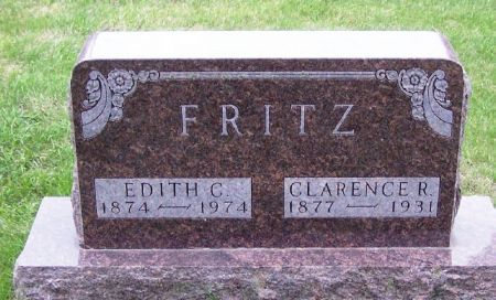 FRITZ, CLARENCE R. - Guthrie County, Iowa | CLARENCE R. FRITZ