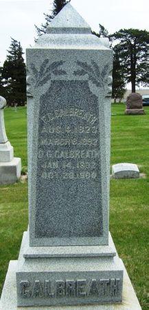 GALBREATH, D.G. - Guthrie County, Iowa   D.G. GALBREATH