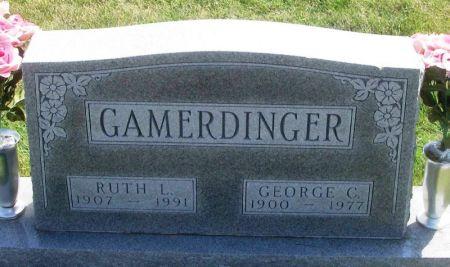 GAMERDINGER, RUTH L. - Guthrie County, Iowa   RUTH L. GAMERDINGER