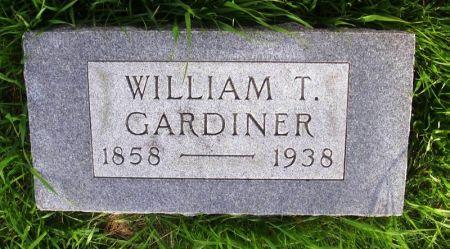 GARDINER, WILLIAM T. - Guthrie County, Iowa | WILLIAM T. GARDINER