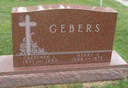 GEBERS, GRETCHEN L. - Guthrie County, Iowa | GRETCHEN L. GEBERS