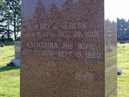 GEBERS, HENRY J - Guthrie County, Iowa | HENRY J GEBERS