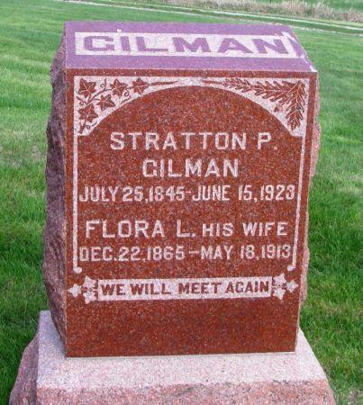 GILMAN, STRATTON PENTON - Guthrie County, Iowa   STRATTON PENTON GILMAN