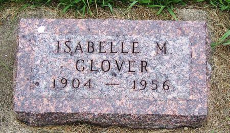 GLOVER, ISABELLE M. - Guthrie County, Iowa   ISABELLE M. GLOVER