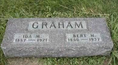 GRAHAM, IDA M. - Guthrie County, Iowa   IDA M. GRAHAM