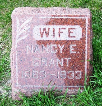 GRANT, NANCY E. - Guthrie County, Iowa | NANCY E. GRANT