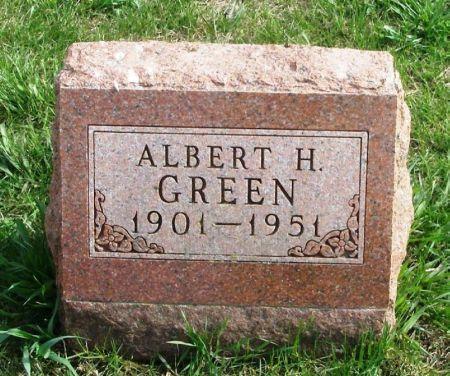 GREEN, ALBERT H. - Guthrie County, Iowa | ALBERT H. GREEN