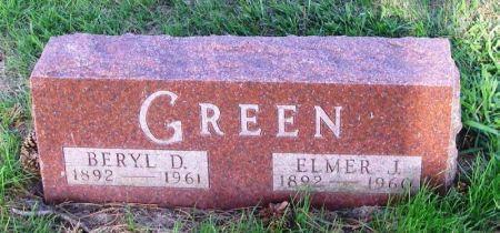 GREEN, ELMER J. - Guthrie County, Iowa | ELMER J. GREEN