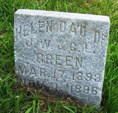 GREEN, HELEN - Guthrie County, Iowa | HELEN GREEN