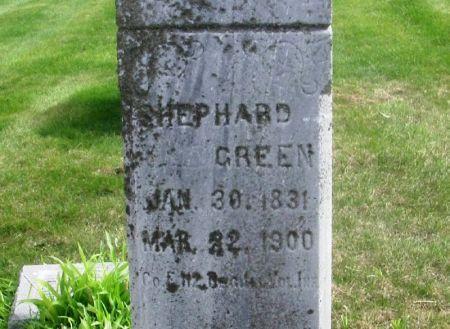 GREEN, SHEPHARD - Guthrie County, Iowa | SHEPHARD GREEN