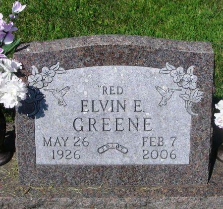 GREENE, ELVIN E.