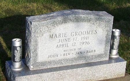 GROOMES, MARIE - Guthrie County, Iowa | MARIE GROOMES