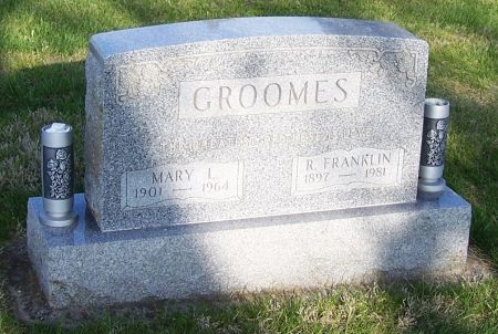 GROOMES, MARY L. - Guthrie County, Iowa | MARY L. GROOMES