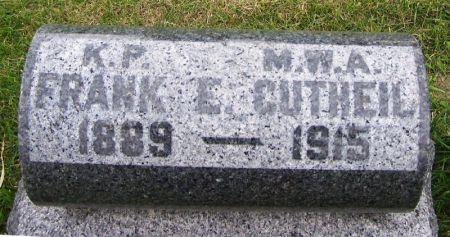 GUTHIEL, FRANK E. - Guthrie County, Iowa   FRANK E. GUTHIEL