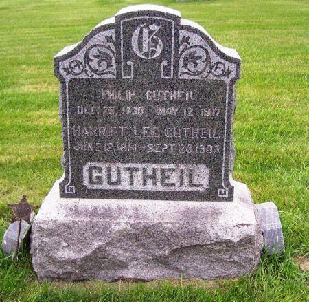 GUTHIEL, HARRIET LEE - Guthrie County, Iowa   HARRIET LEE GUTHIEL