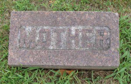 HAAR, MOTHER - Guthrie County, Iowa | MOTHER HAAR