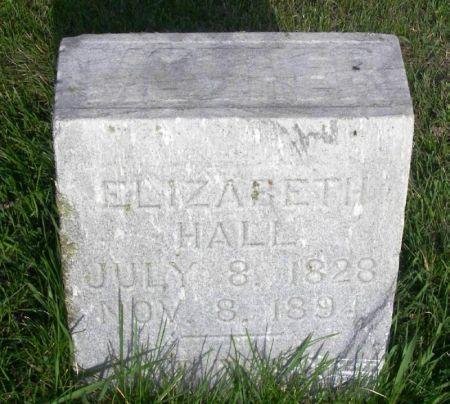 HALL, ELIZABETH - Guthrie County, Iowa | ELIZABETH HALL